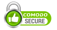This site is secured by Comodo